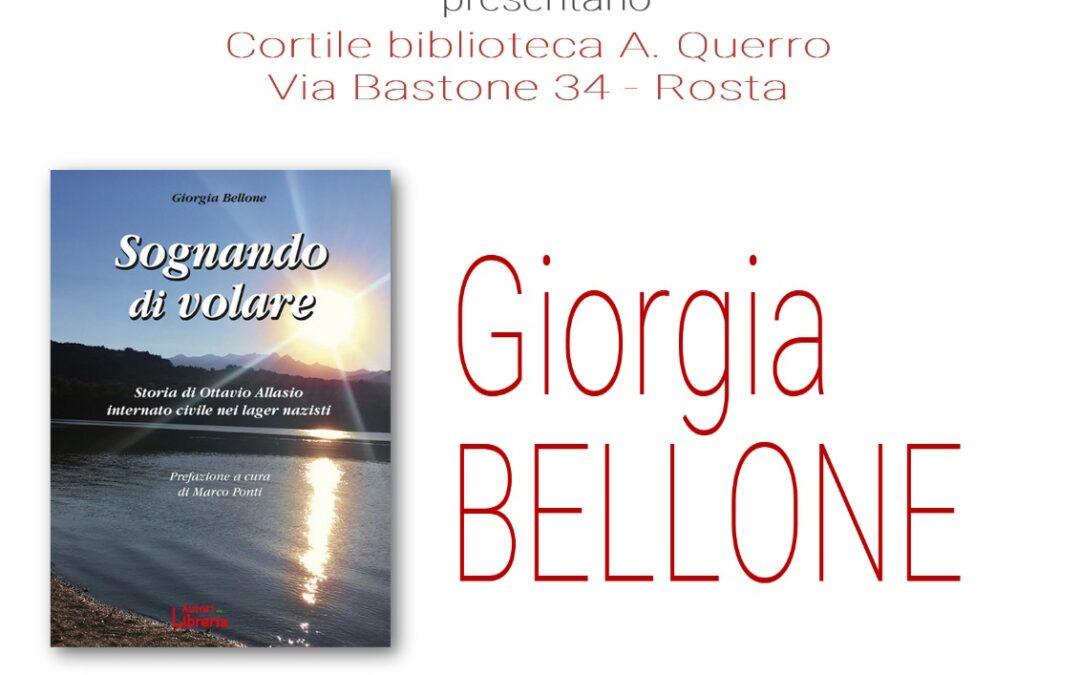 BIBLIOTECA – INCONTRO CON L'AUTRICE GIORGIA BELLONE